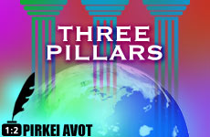 The World Stands on Three Things – Perek 1, Mishna 2 Audio